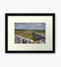 Burren National Park Framed Print