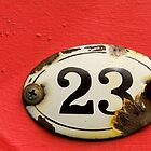 Number 23 again by Sandy Sutton