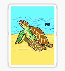 Pegatina Turtle