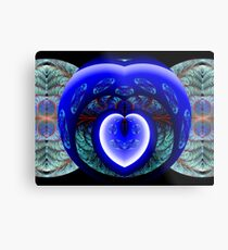 You Have Breached the Wall Surrounding My Heart Metal Print