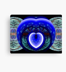 You Have Breached the Wall Surrounding My Heart Canvas Print
