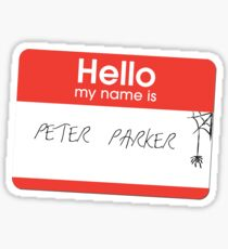 Hello Mr Parker Sticker