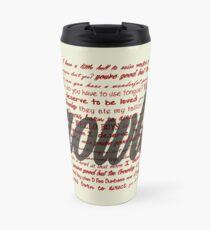 Crowley quotes Travel Mug