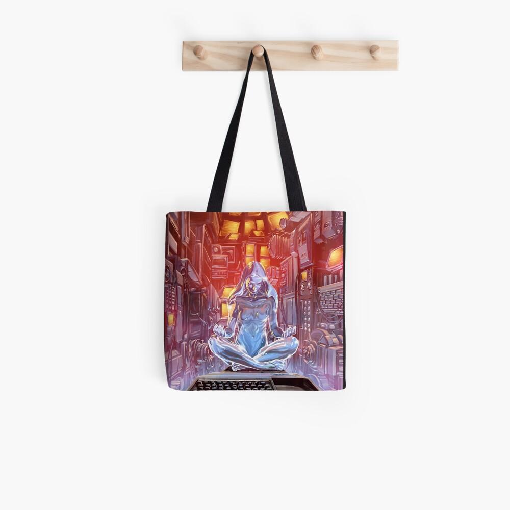 Glass Robot Illustration 009 Tote Bag