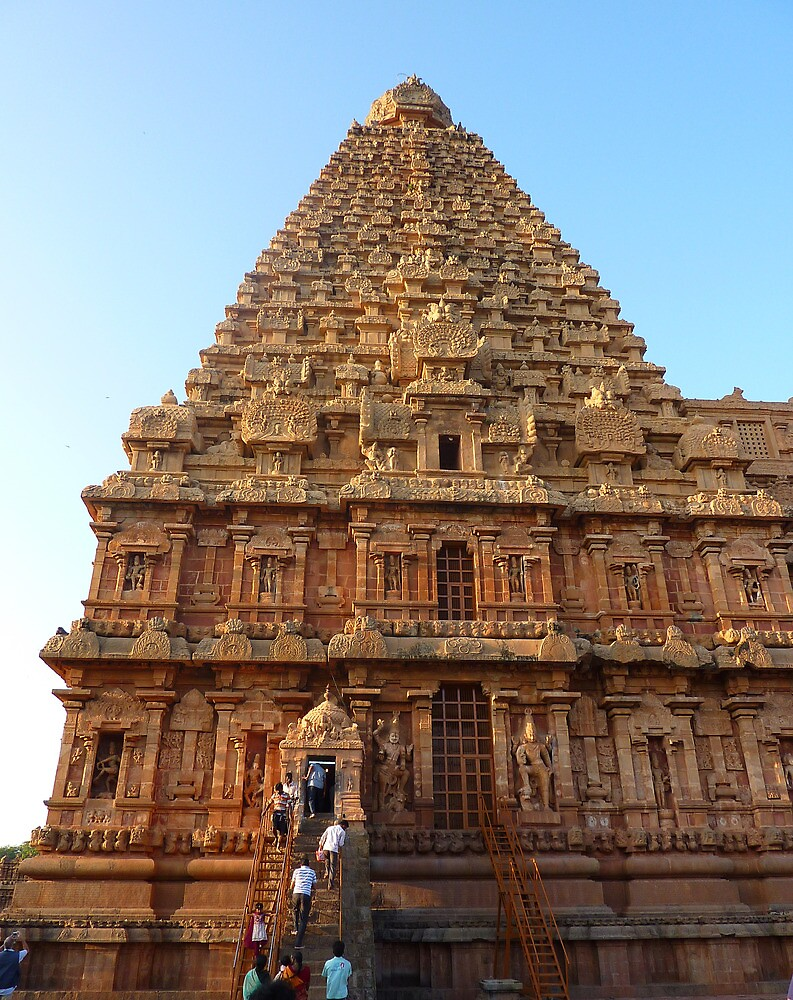 The Big Temple in Thanjavur, South India by jegi52001