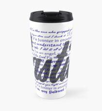 Castiel quotes Travel Mug