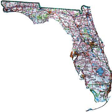 Mapa de Ruta de Florida de Havocgirl