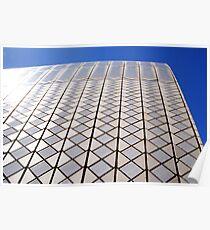 Sydney Opera House tiles on arch Poster