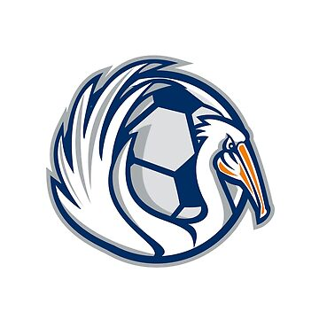 Pelican Wings Soccer Retro by patrimonio