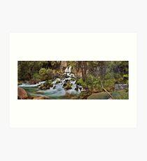 Tarawera Falls Art Print