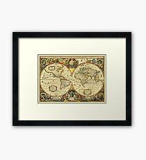 World Map 1641 Framed Print