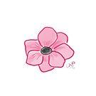 Pretty Little Pink Flower by LauraMuirhead