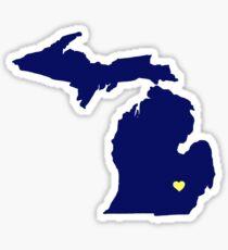 Pegatina Ann Arbor - Michigan