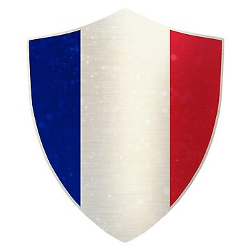 France Flag Shield by ockshirts