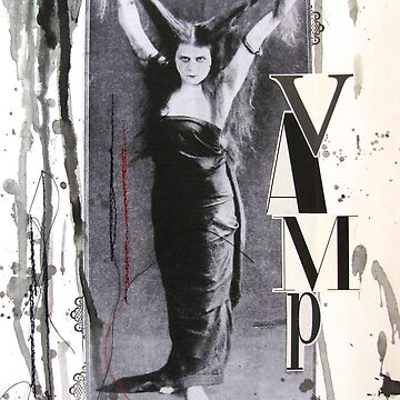 Theda Bara As The Vamp by collageDP
