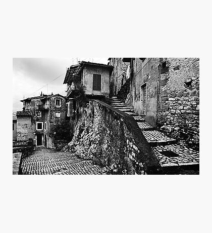 The Back Streets Of Artena Photographic Print