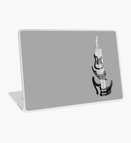 guitar warp Laptop Skin