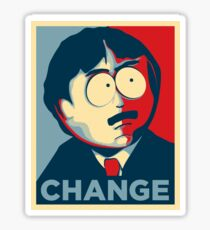 South Park Change  Sticker