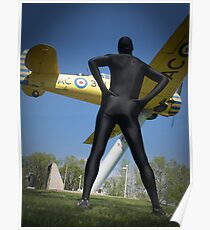 Black Airforce Way Zentai 1 Poster