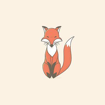 Simple Fox by kuzzie