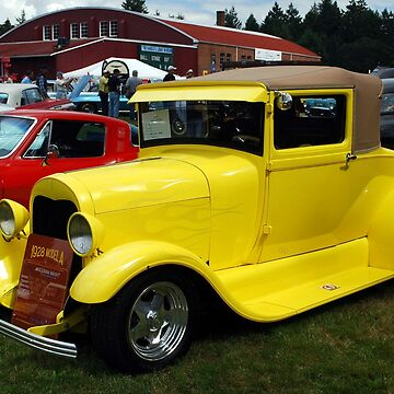1928 Ford Model A by windflowers43