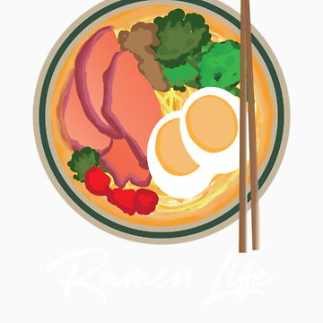 Ramen Life Cute Japanese Noodles Food by Tigarlily