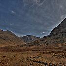 Scottish Mountains by Drodbar