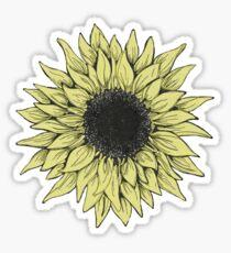 Sunflower Daze Sticker