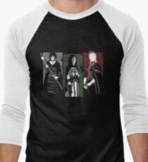 Souls Waifus Men's Baseball ¾ T-Shirt