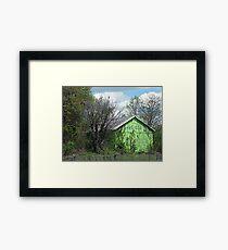 Eco-Barn Framed Print