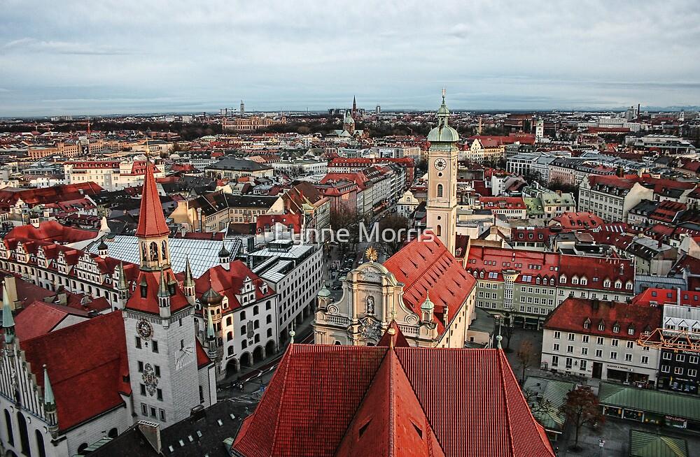 Munich Rooftops by Lynne Morris