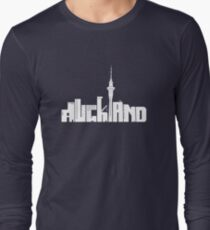 Auckland (white) Long Sleeve T-Shirt