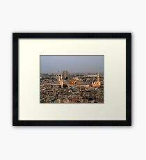 Omayyad Mosque from Above Framed Print