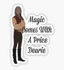 Rumplestiltskin - Magie kommt mit einem Preis Dearie Sticker