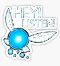 Navi!  HEY! LISTEN! Sticker