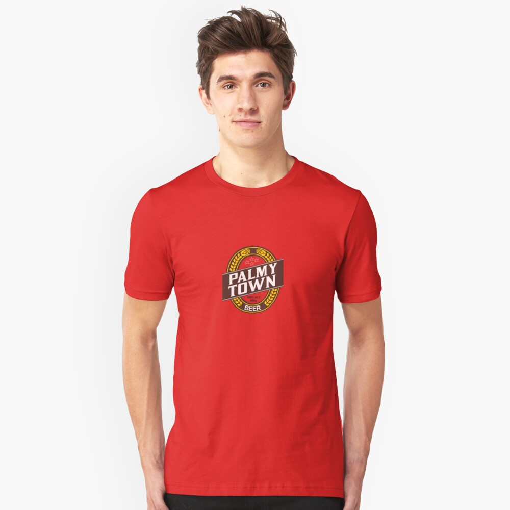Palmy Town Unisex T-Shirt Front