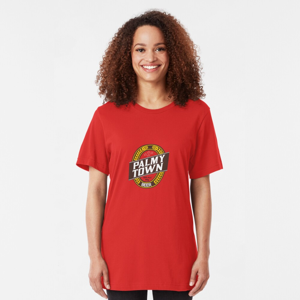 Palmy Town Slim Fit T-Shirt
