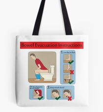 Evacuation instructions Tote Bag
