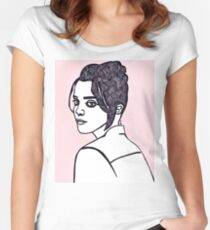 Sky Ferreira Women's Fitted Scoop T-Shirt