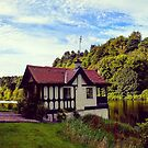 Boathouse in the Sun by emmadoes-art
