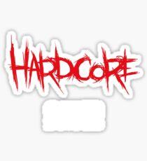 Hardcore-Spieler Sticker
