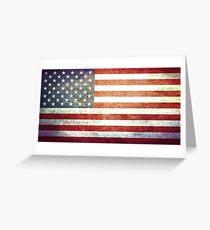 United States of America - Vintage Greeting Card