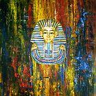 Mask of Tutankhamun by Arturas Slapsys