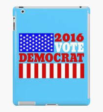 Vote democrat iPad Case/Skin