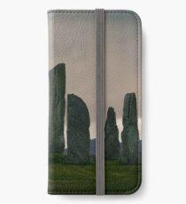 Dawn at Calanais Standing Stones iPhone Wallet/Case/Skin