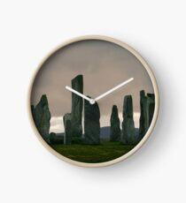 Dawn at Calanais Standing Stones Clock