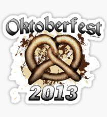 Oktoberfest Pretzel 2013 Sticker