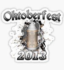 Oktoberfest Beer Stein 2013 Sticker
