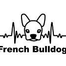 «Latido del corazón, bulldog francés, perro» de nijess