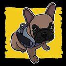«Bulldog francés, dulce, perro» de nijess